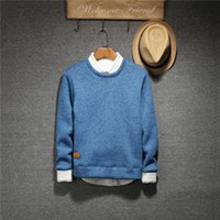 Wholesale Korean Sweater Male - 2016 autumn and winter Korean couples dress sweater T-shirt sweater sweater Mens male young students tide