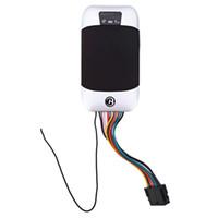 gps gerçek zamanlı izleme cihazları toptan satış-Auto Car GPS Tracker GSM GPRS Takip Cihazı Evrensel Doğru Konum Gerçek zamanlı Takip TK303I Suya dayanıklı Anti-hırsızlık
