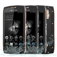 "Wholesale Ip68 Mobile Phone - Original Blackview BV7000 Mobile Phone IP68 Waterproof MTK6737T Quad Core 5 "" HD 2G+16G Fingerprint GPS+Glonass Smartphone"