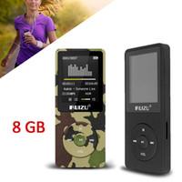 "Wholesale Black Clock Radio - Wholesale- RuiZu X02 HiFi MP3 Music Player Sport MP3 With 1.8"" TFT Screen, 8gb with FM,E-Book,Clock,Data"
