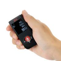 Wholesale digital volume - USB laser rangefinder Digital Laser Distance Meter construction tools Range Finder tape measure Distance Area Volume Measure