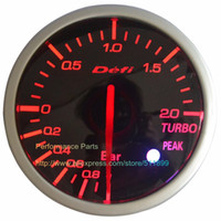 Wholesale Meter Defi - Wholesale- Free Shipping 60mm Defi Gauge BF Series 2.5inch Racing Car Gauge Meter Universal Fitment (Red White Light)