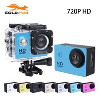 Wholesale Sport Helmet Action Camera - Wholesale-SJ 4000 HD Action Sports Go Waterproof Pro Camera DV 720P Cameras Helmet Bike Car Sports Mini CAM with Retail Box Mini Camera