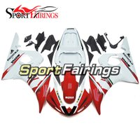 Wholesale Yzf R6 Fiat - Fairings For Yamaha YZF600 R6 YZF-R6 Year 03 04 2003 2004 ABS Plastics Motorcycle Fairing Kit Bodywork Aftermarket Cowling FIAT Red White