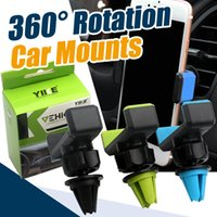 Wholesale Mobile Light For Car - Practical 360° Rotation Car Air Vent Mobile Phone Holder Mount for Cellphone iPhone 6 6S 7 Phone Suction Phone accessories