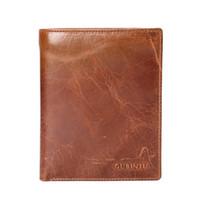 Wholesale Passport Folders - GUBINTU leather passport folder retro certificate boarding card bag wallet card passport