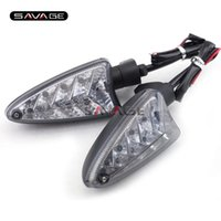 Wholesale Motocycle Led Light - For Triumph Speed Triple 1050 R Street Triple 675 R Motocycle Accessories Front Rear LED Turn Signal Light Indicator Lamp