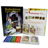 "Wholesale extension boards - ""Saboteur ""Board Game 1+2 Version Saboteur1 Version Jeu De Base+Extension Board Game With English Instructions Family Board Game"
