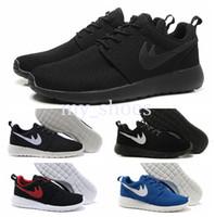 Wholesale Outdoor Weights - 2016 Newest Men & Women Cheap Running Shoes Classical Black Light weight London Olympic Running Shoes Outdoor Casual shoes