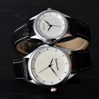 Wholesale Advertising Watch - 2017 men's watch manufacturers spot direct simple student fashion lovers table advertising promotional gifts quartz watch