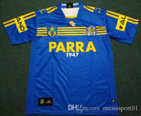 Wholesale TOP quality Parramatta Eels Jersey top quality eels rugby away shirts size S XL men shirts