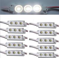 panneaux publicitaires légers achat en gros de-Le module d'injection de smd 5630 lumineux de taille élevée a chauffé le module mené blanc DC12v 3 de puces menées par module léger