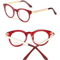 1097231aedda Wholesale- HOT glasses with clear glass brand men optical glasses frame  degree clear transparent glasses women eyeglasses frame