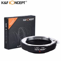 Wholesale Body Fx - Wholesale- K&F CONCEPT L M-FX Lens Mount Adapter for Leica M Mount Lens to Fujifilm X-Series Mirrorless FX Mount X-Pro1 Camera Body