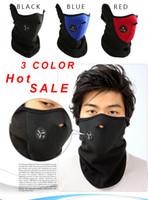 Wholesale neoprene motorcycle face masks - Hot Sale New motocross Neoprene Winter Warm Neck Half Face Mask Windproof Veil Sport Snow Bike motorcycle jacket Ski Guard