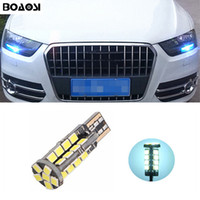 Wholesale Led Light For A6 - BOAOSI T10 2835SMD LED Parking Lights Sidelight No Error For AUDI A2 A3 8L 8P A4 B5 A6 4B 4F A8 D2 TT Q3 Q5 Q7 C5 C6 C7 S2 S4