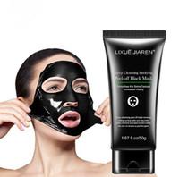 ingrosso maschera nera maschera nera-LIXUE JIAREN Maschera per la rimozione di comedone Testa nera Maschera per fango per l'acne Pulizia profonda Maschera per la pulizia dei pori