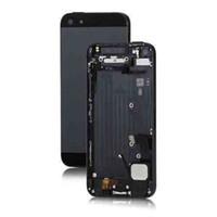 ingrosso pulsante di alimentazione di apple iphone-Coperchio completo Coperchio posteriore Coperchio batteria con pulsanti laterali Caricatore per dock Power Flex per iPhone 5 5s 5c