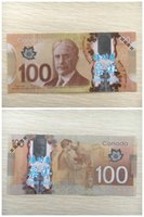 Wholesale Money Plays - Earliest edition Money banknote currency CAD100 for Movie props and Education bank staff training paper children gift play money