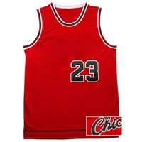 Wholesale Red Chi - Men's Top quality #23 Chi Jerseys Classical Black Red White Basketball Jersey Men Sports wear embroidered Logos Cheap sports shirts