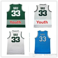 87990c902 Basketball Boys Sleeveless  33 Larry Bird Kids jersey