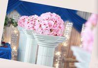 Wholesale marketing balls resale online - New Design Inch Wedding Silk Pomander Kissing Ball Flower Ball Decorate Artificial Flower For Wedding Garden Market Decoration