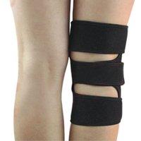 Wholesale Knee Stabilizer Wrap - Wholesale- Screaming Portable Knee Patella Support Brace Sleeve Wrap Cap Stabilizer Adjustable Sports Knee care