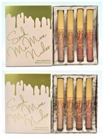 Wholesale Gift New Collection - NEW HOT Kylie Cosmetics Send Me More Nudes MATTE Lipstick Vacation Collection 2 specifications dhl Free shipping+GIFT