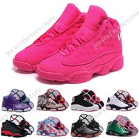 Wholesale Latex Hot Girls - Hot Cheap New Retro 13 XIII Womens Basketball Shoes sneakers women sports running shoes girls designer shoes drop free shipping Size 36-40