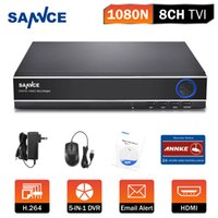 Wholesale SANNCE CCTV DVR Channel P Video Recorder HDMI CCTV Supported AHD TVI DVR NVR HVR CH for Home Security Camera System