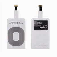 Wholesale Nexus Lg Smartphone - Universal Qi Wireless Charger Charging Patch Receiver Adapter Pad for Samsung GALAXY S6 S7 Edge Plus s8 note8 Google Nexus 6 7 LG smartphone