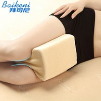as pic spine cushion - knee Pregnance Pillow Spine Almohadas Memory Foam Wedge Leg Cushion Sciatic Nerve Pain Relief PBody Sleeping Pillow