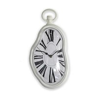 Wholesale Watch Clock For Wall - Wholesale- New Arrival! Melting Clock Art Wall Clock Modern Design For Living Room Clock Movement Home Wall Watches HG0223