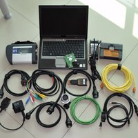 Wholesale Bmw C4 - mb star c4 sd connect for bmw icom a2 b c 2in1 with software expert mode lapotp d630 full set diagnose