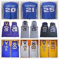 Wholesale Cheap Mens Basketball Jerseys - 2017 2018 New Season Mens #21 Joel Embiid Jersey Home Blue Wholesale Cheap 20 Markelle Fultz 25 Ben Simmons Basketball Jerseys Fast Shipping