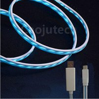 Wholesale Chinese Float - Floating lighting USB 2.0 data cable micro USB cable with LED light for android mobile phone