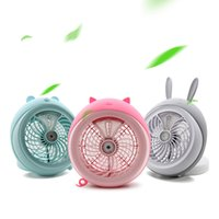 Wholesale Cute Wall Switch - Cute pet Spray fans electric Fan Lithium Battery Rechargeable Micro USB Multi-Function Fan Cool Cooler for Home and Travel