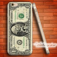 Custodia rigida in TPU Coque <b>George Washington</b> per iPhone 6 6S 7 Plus 5S SE 5 5C 4S 4 Custodia Cover in silicone.