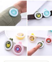 Wholesale Pregnant Cute - Baby Pregnant Anti-mosquito Button Cute Cartoon Mosquito Repellent Clip Buckle Non-toxic Mosquito Repellent Buckle Pest Control LC582