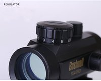 Wholesale Rifle Scope 11mm - 2017 Free shipping 1X40 Tactical Holographic Red Green Dot Rifle scope Sight For 11mm 20mm Picatinny Weaver Mount Optical Sight Scope
