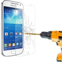 Wholesale galaxy s4 proof - Explosion Proof 9H 0.3mm Screen Protector Tempered Glass for Samsung Galaxy s3 i9300 s4 i9500 s5 i9600 s6 G9200 s3 mini s4 mini with Package