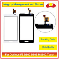 """Wholesale Lg Optimus F6 - High Quality 4.5"""" For LG Optimus F6 D500 D505 MS500 Touch Screen DigitizerOuter Glass Lens Panel Black Color"""