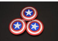 Wholesale wholesal Metal Fidget Hand Spinner Decompression Toys New American Captain EDC Torqbar Spinner Finger Tip Rotation Anxiety HandSpinner Gyro