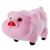 Wholesale Pig Cute Love - Wholesale- 1pc 16cm New Arrival Cute Gravity Falls Pink Pig Waddles Plush Toy Kids Love Doll