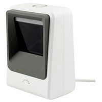 Wholesale Computer Screen White - Wholesale- Wired Hands-free 1D 2D USB CCD Barcode Reader Scanner For Mobile Payment Computer Screen Scan White