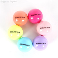 Wholesale Wholesale Organic Lip Balm - Wholesale-6 Color Round Ball Fruit Flavor Embellish Lip Balm, Natural Organic Chapstick, Lip Care Wholesale