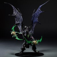 Wholesale Dc Unlimited - Demon Hunter Action Figure DC Unlimited Series 5 13 inch Deluxe Boxed Demon illidan Stormrage PVC Figure Toy