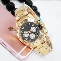 Wholesale Automatic Sport Watches For Sale - Top sales 40MM Solid steel belt AAA quality luxury brand automatic quartz watch date men's fashion leisure sports watches for men and women