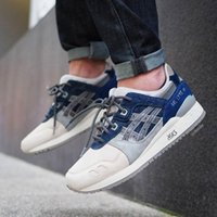 Wholesale Hunting Tops - Whosale 2017 Asics GEL-Lyte III Men Women Running Shoes Top Quality Training Lightweight For Sale Online Fashion Sneakers Basketball Shoes