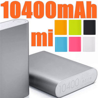 Wholesale External Power Ipad - 50pcs 10400mAh external battery mobile power emergency battery for mobile phones Tablet PC iPad Free Shipping xiaomi power bank D-YD